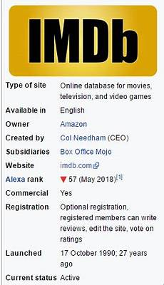 imdb full form what is the full form of imdb quora