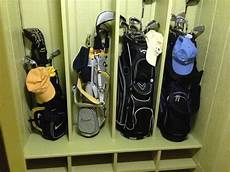 Garage Storage Ideas For Golf Clubs by 13 Best Images About Golf Clubs Storage On