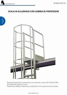 scale con gabbia scale con gabbia di protezione scala con gabbia saldata