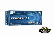 223 best images about traditional federal power shok 223 rem 55gr sp 20 rounds clinton