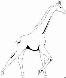 Malvorlagen Tiere Giraffe Rennende Giraffe Ausmalbild Malvorlage Tiere