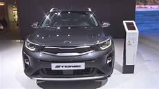 kia platinum edition kia stonic platinum edition 1 0 t gdi graphite metallic 2018 exterior and interior
