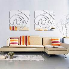 home decor wall stickers aliexpress buy 3d mirror wall stickers home decor