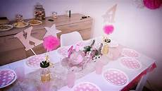 theme anniversaire 1 an decoration de table anniversaire 1 an fille
