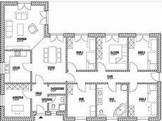 Dieser Bungalow Grundriss Mit 150 M 178 Bietet 3 Kinderzimmer