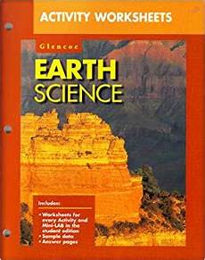 glencoe earth science activity worksheets ralph feather 9780028271859 books