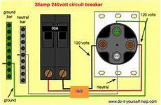 Wiring Diagram For A 50 240 Volt Circuit Breaker
