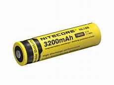 nitecore li ion akku 18650 3200mah 3 7v nl188