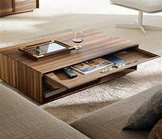 20 Fabulous Wood Coffee Table Designs By Genius