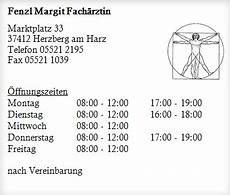 Fenzl Margit Fach 228 Rztin Gesundheitsdienste In Herzberg Am