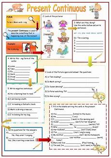 grammar worksheets present continuous tense 24932 present simple activities buscar con grammatica inglese imparare inglese inglese