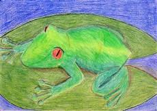 Ausmalbild Frosch Auf Seerosenblatt Frosch Auf Seerosenblatt Frosch Auf Seerosenblatt