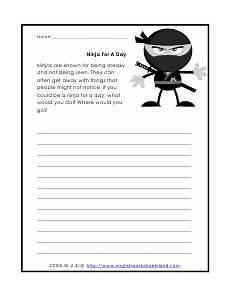 english creative writing worksheets for grade 2