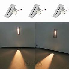 blade step light led recessed low level wall wash lights