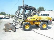 Mecalac 12 Mxt Wheel Excavator From For Sale At