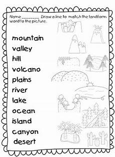 17 best images about landforms on pinterest definitions memory games and literacy centers