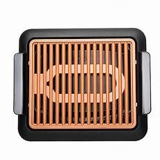 gotham steel smokeless grill barbecue electrique m6