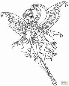 Ausmalbilder Zum Ausdrucken Winx Club Winx Club Mythix Coloring Pages Printable Coloring For