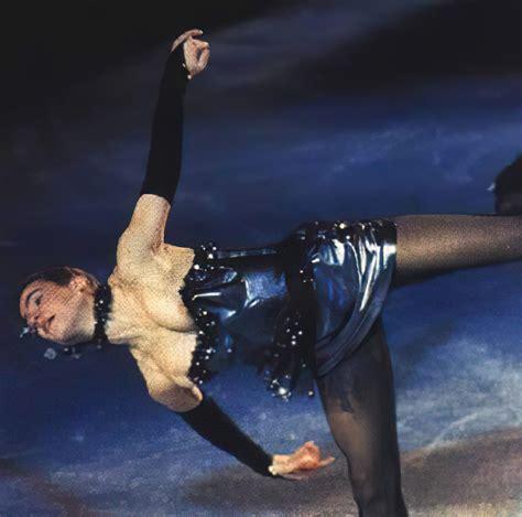 Topless Ice Skating