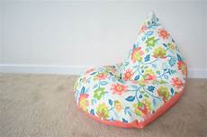 Diy Sew A Bean Bag Chair In 30 Minutes Project Nursery