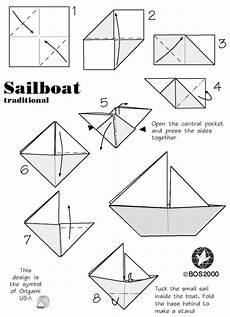 schiffchen falten anleitung sail boat origami food ideas