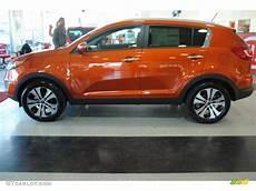 Techno Orange Kia Sportage
