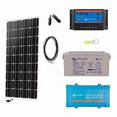 Kit Solaire Autonome 100w Convertisseur 230v