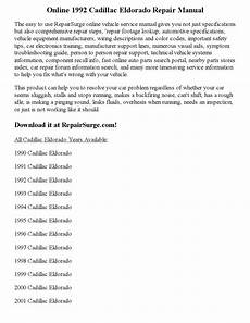 online car repair manuals free 2000 cadillac eldorado seat position control 1992 cadillac eldorado repair manual online by precious pim issuu