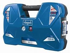 scheppach air kompressor 2 l 8 bar 1 1 kw
