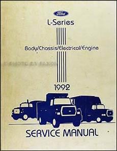 auto repair manual online 1992 ford f series parking system 1992 ford l series foldout wiring diagram l8000 l9000 lt8000 lt9000 ln7000 ln8000 ln9000 lnt8000