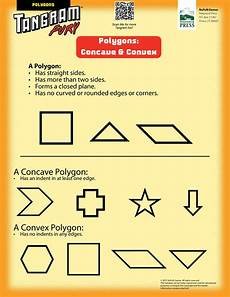 concave and convex polygons tangrams tangrams tangram puzzles math classroom elementary math