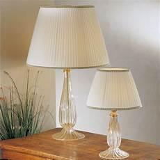 lumi per camere da letto musa lada da tavolo in vetro soffiato di murano con
