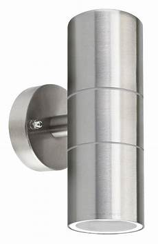 double wall light zlc03 stainless steel up down wall light gu10 ip65 double