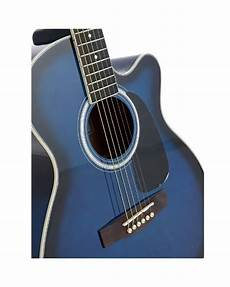 Armstrong Acoustic Box Guitar Bluebusrt Buy