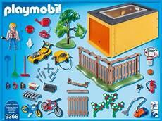 playmobil city 9368 pas cher garage avec