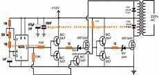 homemade 100va to 1000va grid tie inverter circuit elac in 2019 circuit projects circuit