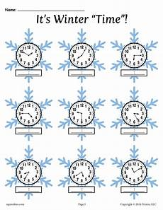 printable time worksheets year 4 3784 winter themed telling time worksheets 4 free printable versions supplyme