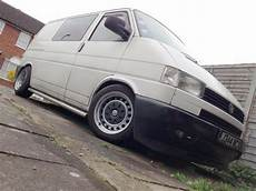 vw transporter t4 banded steel wheels 5x112 staggered