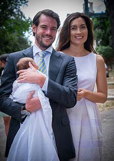 stefanie poser schwanger christening of princess amalia of luxembourg in lorgues photos and images getty images
