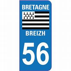 stickers plaque immatriculation moto sticker plaque immatriculation morbihan drapeau breton 56 etiquette autocollant