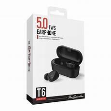 Bakeey Bluetooth Earphone Hifi Stereo Portable by Bakeey T6 Tws Bluetooth 5 0 Earphone Hifi Stereo Portable