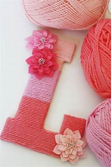 home decorating diy make your own yarn wrapped