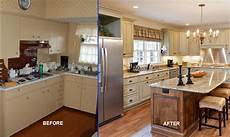 Kitchen Design Ideas Before And After by 35 Ideas About Small Kitchen Remodeling Theydesign Net