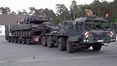 Verladung Kfpanzer Leopard 2 Auf Slt Tag Der