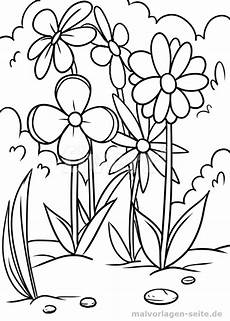 Malvorlagen Kostenlos Ausdrucken Lassen Malvorlage Blumenwiese Blumen Ausmalen Ausmalbilder Und