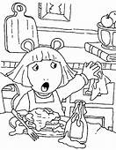 Arthur 4 Cartoons Coloring Pages Page & Book For