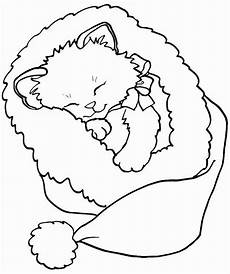 Malvorlage Katze Weihnachten Druckbare Weihnachten Katze Malvorlagen Best Of Gato Natal