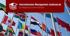 studium internationales management infos studieng 228 nge