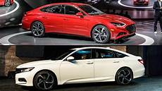 hyundai accord 2020 auto showdown 2020 hyundai sonata vs 2019 honda accord