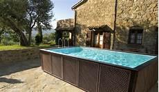 piscine su terrazzi realizzazione piscine fuori terra mondo acqua buscate